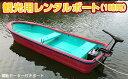 【ふるさと納税】君津市亀山湖 観光用レンタルボート(電動)共通利用券