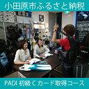 【ふるさと納税】PADI 初級Cカード(ダイビングライセンス...