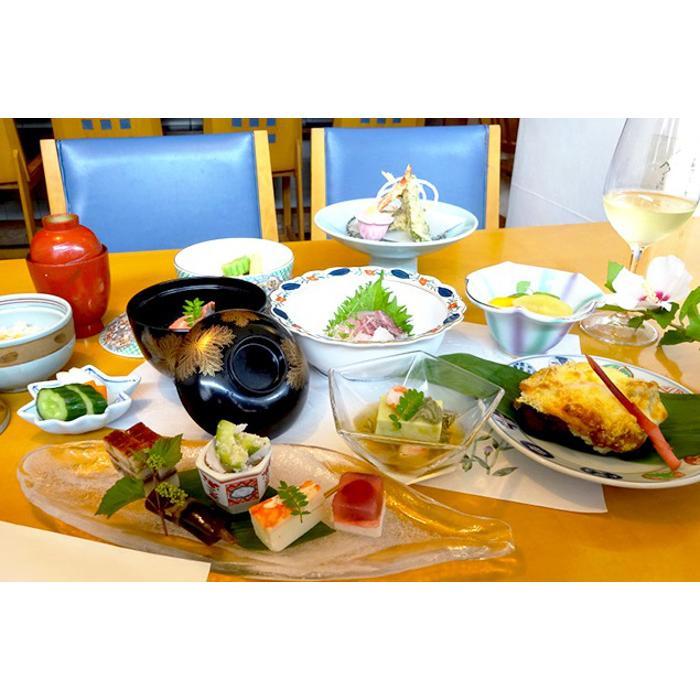 【ふるさと納税】逗子魚勝 月替りの懐石膳 ワンドリンク付 2名様分