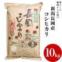【ふるさと納税】73-101新潟長岡産コシヒカリ10kg...
