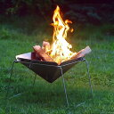 【ふるさと納税】[内山産業] キャンプ用品 ステンレス焚火台(焚き火台)グリルセット【020P081】