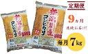 【ふるさと納税】新潟県 見附市産 コシヒカリ 合計 63キロ...