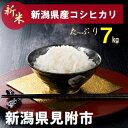 【ふるさと納税】新潟 県 見附市産 新米 コシヒカリ 7kg...