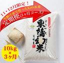 【ふるさと納税】コシヒカリ「東蒲幻米」10kg(ご家庭向け) 定期便3回 【11月12月申込限定品 美味しいお米を毎月お届け】