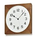 【ふるさと納税】ROOT[電波時計]ブラウン (NY18-07 BW) タカタレムノス レムノス L...