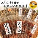 【ふるさと納税】氷見 堀与氷見名産 みりん干5種とほたるいか...