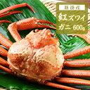 【ふるさと納税】【おすすめ】新湊産紅ズワイガニ約600g【木...