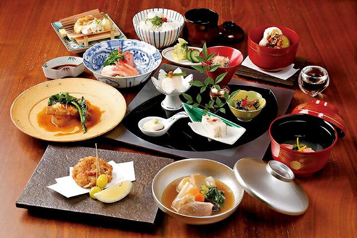 【ふるさと納税】「dining gallery銀座の金沢」ディナーお食事券(4名様分)・工芸品引換券