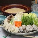 【ふるさと納税】能登牡蠣白味噌鍋セット☆ 旨味濃厚な能登牡蠣と上品な甘さの白味噌スープは相性抜群!�「ニッポン全国鍋合戦」入賞