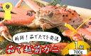 【ふるさと納税】越前ガニ茹で 冬の味覚の王者 700g以上×1杯 【ずわい蟹/ずわいガニ/かに】 お届け:2018年11...