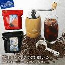 【ふるさと納税】コーヒー 豆 ふじやまコーヒー豆2種&コーヒーミルセット ミル 珈琲