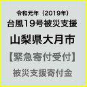 【ふるさと納税】【令和元年 台風19号災害支援緊急寄附受付】...