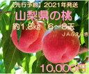 【ふるさと納税】 桃 山梨県産 約1.8kg 約6~8玉入り 産地直送 フルーツ