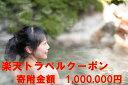 【ふるさと納税】山梨県笛吹市の対象施設で使える楽天トラベルクーポン寄付額 1,000,000円