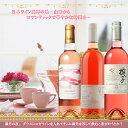 【ふるさと納税】【山梨の華やかな味わい】ロゼ・ワイン 3本セ...