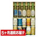【ふるさと納税】【5ヶ月連続お届け定期便】THE軽井沢ビールセット〈G−PH〉 【お酒/ビール】