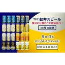【ふるさと納税】【4ヶ月定期便】飲み比べセット24缶THE軽井沢ビール  【定期便・お酒】