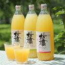 【ふるさと納税】信州の人気りんご3種の飲み比べ1L×3本ふじ・王林・シナノスイート