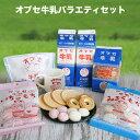 【ふるさと納税】 オブセ牛乳バラエティセット
