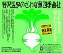 【ふるさと納税】野沢温泉のざわな蕪四季會社 【蕪主出資3口】