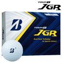 【ふるさと納税】TOUR B JGR ホワイト 1ダース (ゴルフボール / ブリヂストン・スポーツ) T15-01