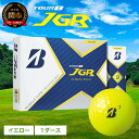 【ふるさと納税】ゴルフボール ブリヂストン TOUR B JGR イエロー 1ダース ブリヂストンスポーツ ブリジストン ツアーb ツアービー Bマーク 黄色 12個 T15-02