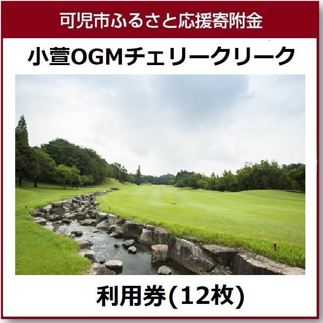 【ふるさと納税】小萱OGMチェリークリークカントリークラブ利用券(12枚)