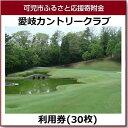 【ふるさと納税】愛岐カントリークラブ利用券(30枚)