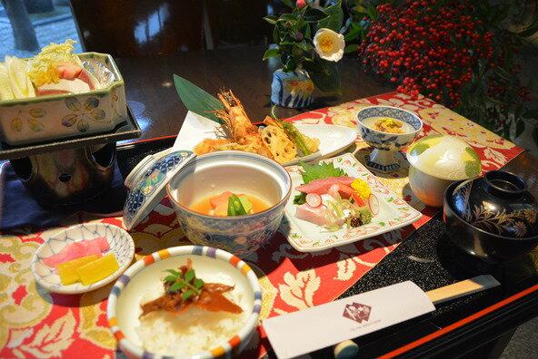 【ふるさと納税】柿畑 美・味・彩・心 ペアランチ会席の商品画像