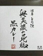 【ふるさと納税】奥美濃古地鶏黒カレー