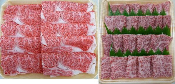 【楽天ふるさと納税】A5等級 飛騨牛ロース又は肩ロース肉 スライス・焼肉セット 約1200g スライス(約600g)・焼肉(約600g)