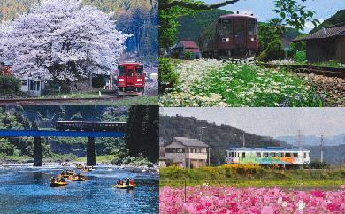 【ふるさと納税】長良川鉄道全線1日フリー乗車証