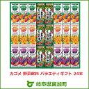 【ふるさと納税】カゴメ 野菜飲料 バラエティギフト 24本