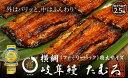 """【ふるさと納税】岐阜鰻たむろ""""極"""" 横綱うなぎ2.5尾ファミリーパック(約5人前)"""