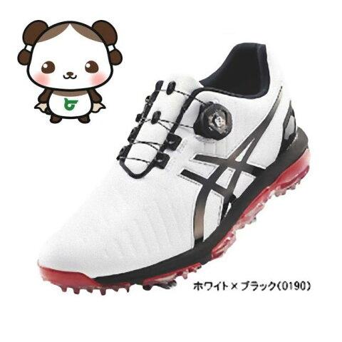 【ふるさと納税】アシックス ゴルフシューズ メンズ ゲルエース プロ3 ホワイト・ブラック