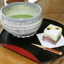【ふるさと納税】「和菓子工房 松栄堂」の和菓子の一つで、お抹茶をお召し上がりいただける呈茶券です。