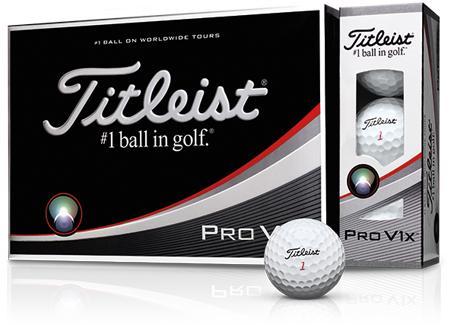 【ふるさと納税】ゴルフボール タイトリストPROV1X(ホワイト・3ダースセット36球)