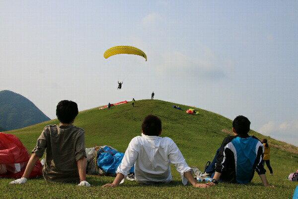【ふるさと納税】 パラグライダー 半日体験コース