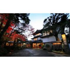 【ふるさと納税】F−16 修善寺温泉 美しい景観が人気 新井旅館ペア宿泊券(2名様)