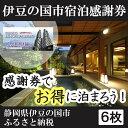 【ふるさと納税】020-001 伊豆の国市宿泊感謝券(6枚)