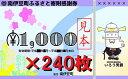 【ふるさと納税】南伊豆町ふるさと寄附感謝券240枚