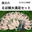 【ふるさと納税】藤文の「えぼ鯛大満足セット」