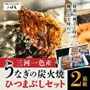【ふるさと納税】創業大正九年 日本料理小伴天 三河一色産うなぎの炭火焼 ひつまぶしセット 2箱組