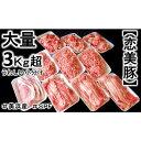 【ふるさと納税】ブランド豚【 3キロ超え!】【小分け】がうれ...