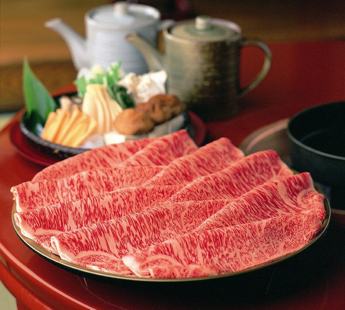 【ふるさと納税】 柿安本店(料亭) 松阪牛すき焼...の商品画像