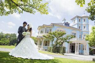 【ふるさと納税】 エルマーナ 結婚式の記念を六華苑でロケーション撮影