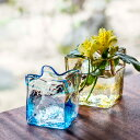 【ふるさと納税】黒壁ガラス工房 オリジナルスクエア花器※着日...