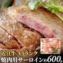【ふるさと納税】近江牛A5ランク焼肉用サーロイン 【牛肉・お...