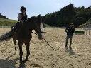 【ふるさと納税】SILVANO STABLES 体験乗馬ペアチケット