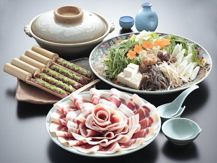 【ふるさと納税】京都丹波ぼたん鍋 お食事券(お一...の商品画像